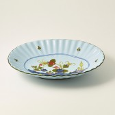 Small oval moulded bowl cm 28x22