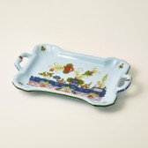 Small rectangular tray with handles cm 24x13,5