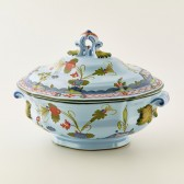 Oval soup tureen for 2 people cm 24x17