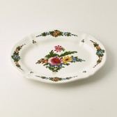 Oval course plate cm 45x36