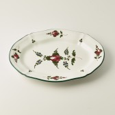Oval course plate cm 16x22